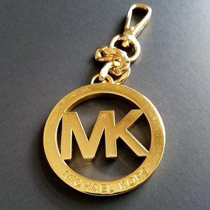 Michael Kors Gold Tone Key Chain Bag Charm